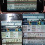 Адаптивная переверстка (под iPhone)