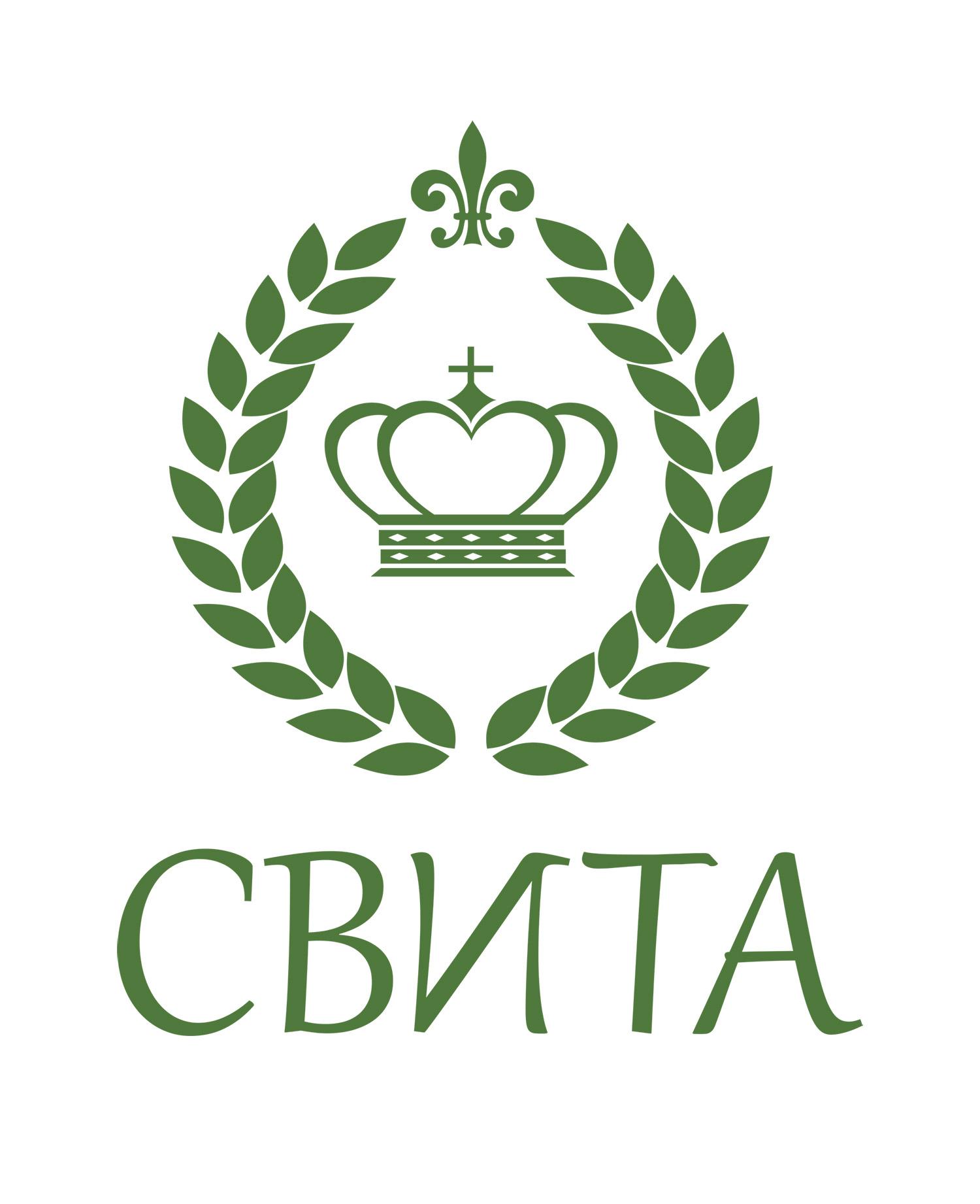 Позолоченый логотип СВИТА в векторе