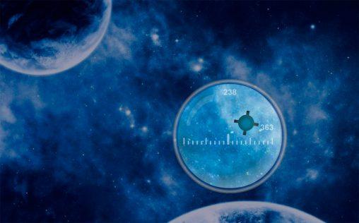 Интерактивный космический этюд на Flash
