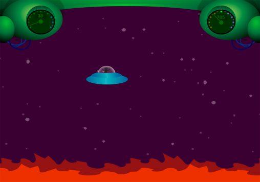 Flash-игра крушение НЛО