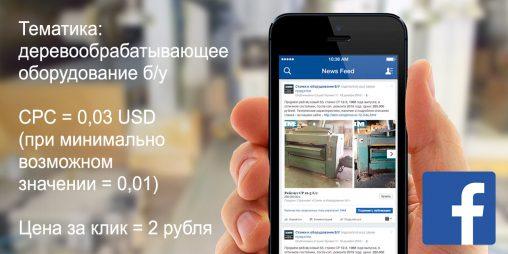 Рекламная мини-кампания в Facebook